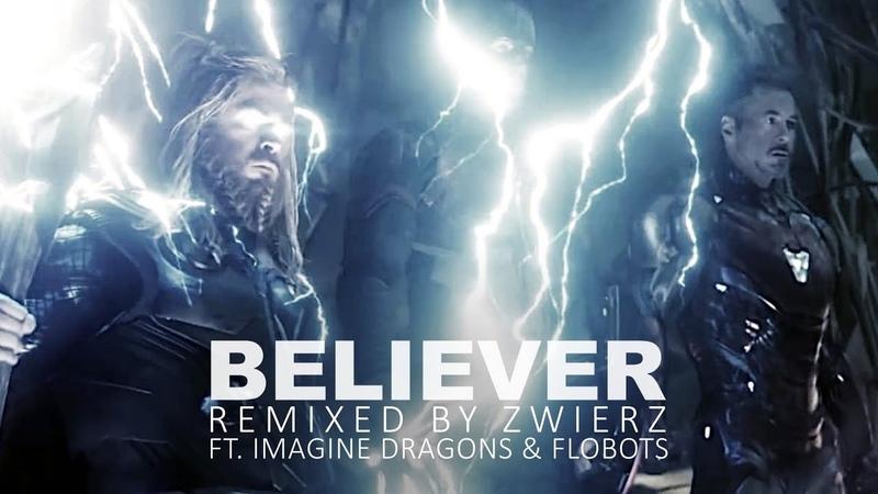 Avengers Endgame Imagine Dragons Believer