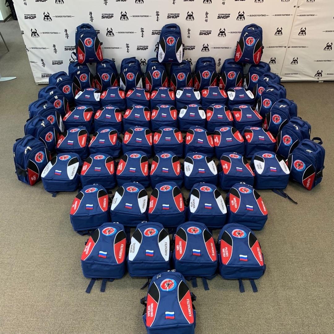 Тхэквондисты из Камчатского края решили тоже обзавестись нашими рюкзачками