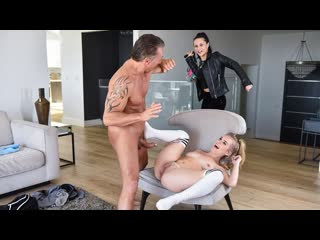 Natalie knight - sneaky stepdaughters fuck best (doggystyle, indoor, missionary, blonde, stockings, step sister, step brother)