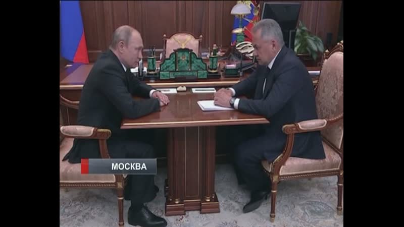 Владимир Путин поручил министру обороны доложить о причинах пожара на глубоководном аппарате, где погибли 14 офицеров