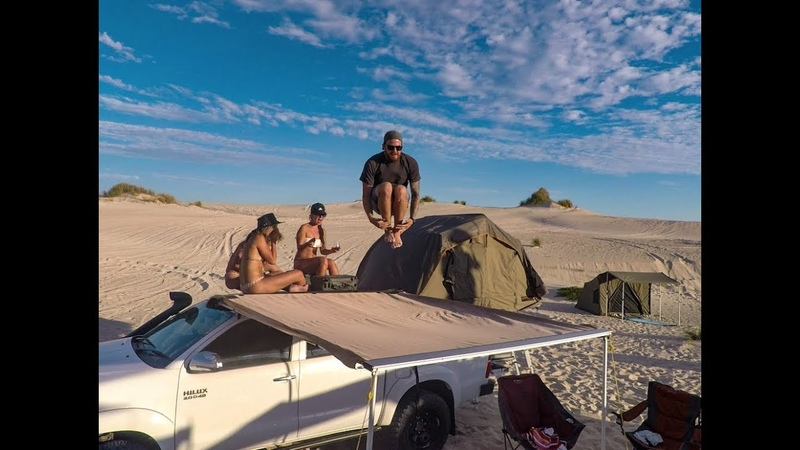 ULTIMATE 4 WAY 270 DEGREE AWNING REVIEW Darche vs Howling Moon vs Oztent v Supa Peg