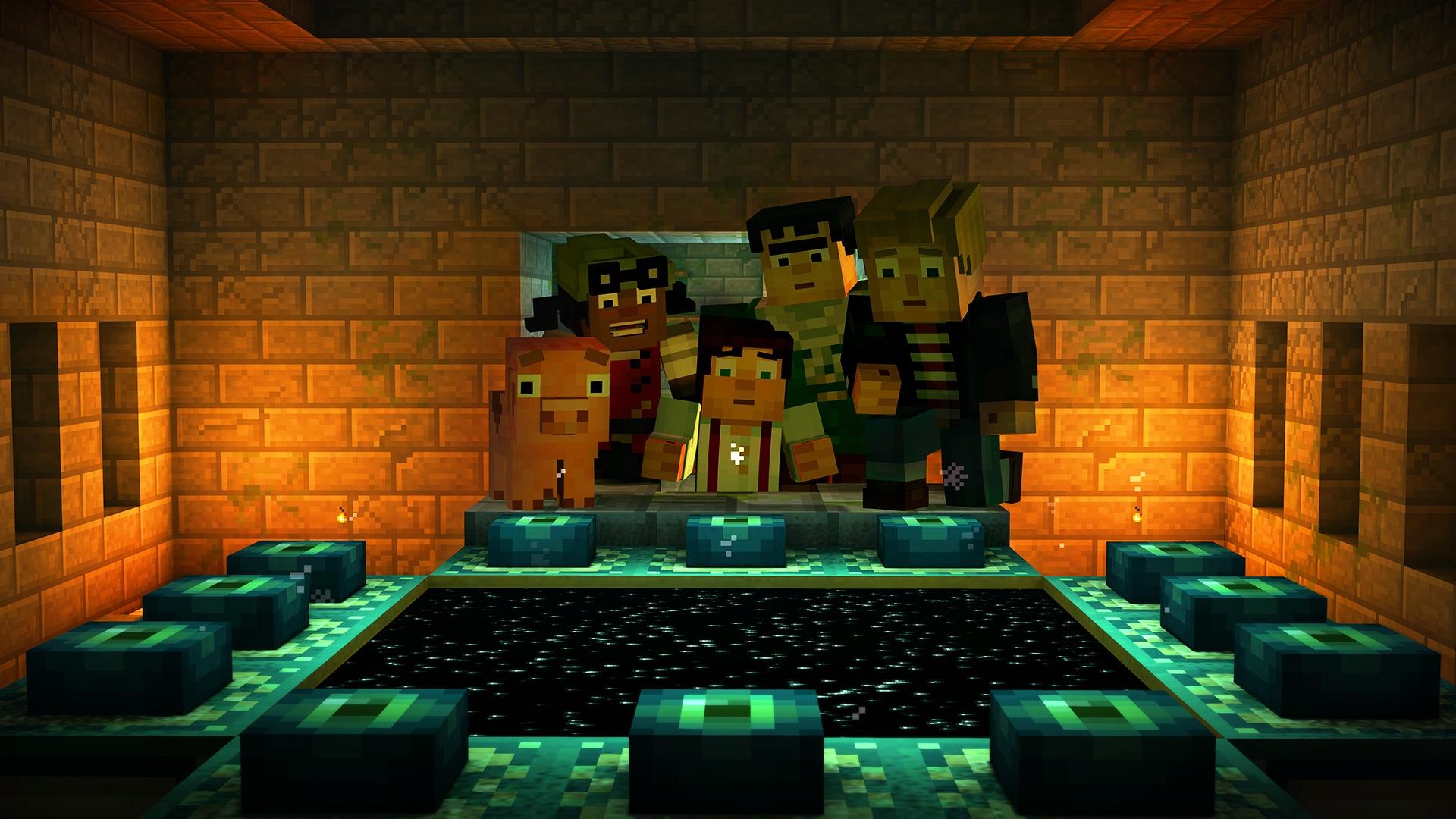 Портал в Край в Minecraft