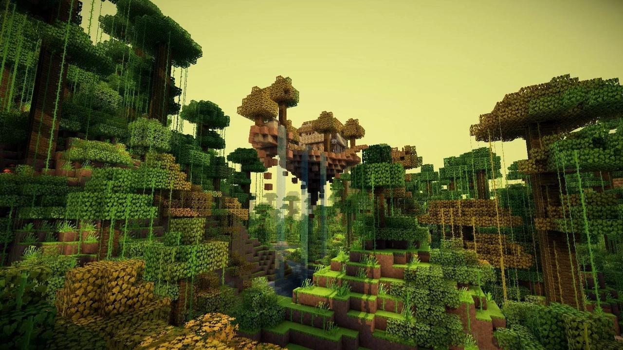 Джунгли в Minecraft