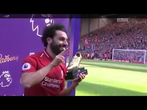 محمد صلاح يفوز بجائزة الحذاء الذهبي لهداف16