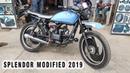 Hero Splendor Modified Into Cafe Racer | 2019 | Kamal Auto Nikhar