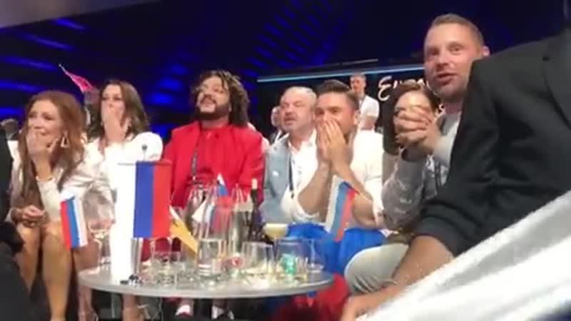 Сергей Лазарев реакция на оглашение результатов (GRAND FINAL)