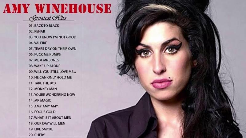 Amy Winehouse Greatest Hits Album - Best Playlist Amy Winehouse - Amy Winehouse Full Album