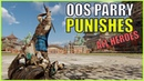For Honor Out of Stamina Parry Punishes for all Heroes
