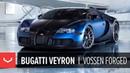 Bugatti Veyron on Vossen Forged M-X3 Wheels