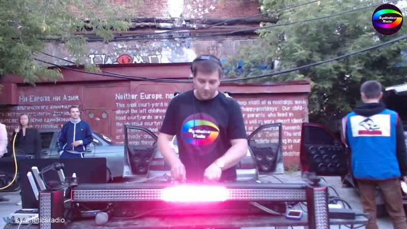 Seemx Live @ Ural Music Night - Техно гараж от Synthetics Radio и Quartz Car Audio
