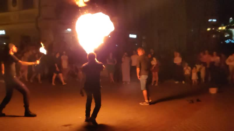 FireShow Казань 22 06 2019 Облака пламени