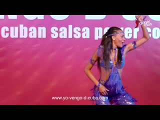 Yeni molinet  -  yo vengo de cuba 2018 -  cuban salsa power congress