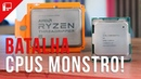 AMD Threadripper Ryzen 2990WX (32C/64T) vs Intel Core i9-9980XE (18C/36T)