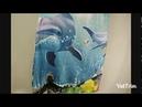 Красивое Пляжное Полотенце Бренд: Microfine от Магазина : microfine_Official_Store