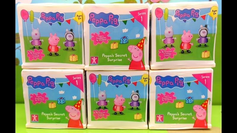 La sorpresa segreta di Peppa Cubo con sorprese Peppa Pig Nuovi giocattoli Peppa Pig