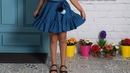 Falda de capa REVISTA PATRONES INFANTILES Nº 9