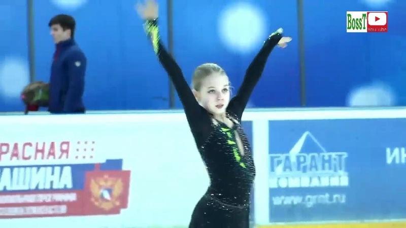 Alexandra TRUSOVA - SP, Spartakiad 2019 (Alternative)