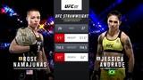 UFC 237 Роуз Намаюнас VS Джессика Андрадэ