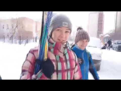 Мои воспоминания. Часть 1. Лыжники , дворы и парк