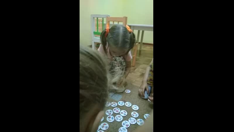 Развивающая игра по курсу Чтение без знания букв для ребят 4-5 лет
