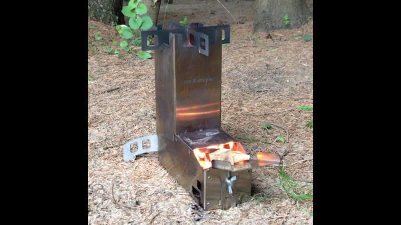 На огне. Печь Kemper