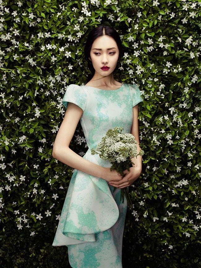 Летнее вдохновение от модельера Zhang Jingna