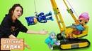 Детский сад Капуки Кануки Куклы и игрушки купаются в пене Бассейн с шариками Мультики для детей