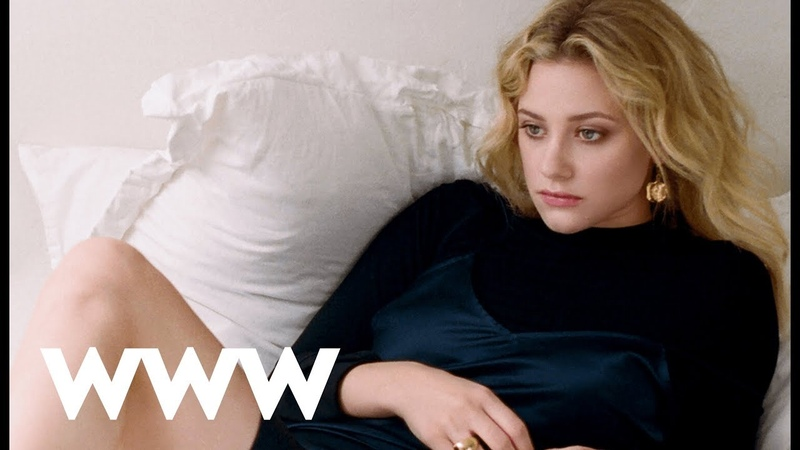 Riverdale's Lili Reinhart Behind the Scenes of Our October Cover | Who What Wear