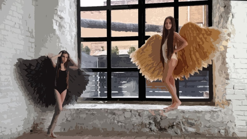 Main Gold and Black angels | PHOTOSESSION 2019