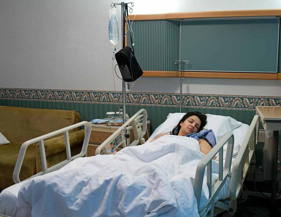 Больничные халаты могут не потребоваться для длительного пребывания.