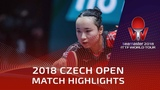 Mima Ito vs Wen Jia 2018 Czech Open Highlights (14)