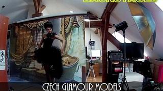 Tamila Sparrow 01 - Fashion model - Backstages - TFP ART 2019 - Fantasy theme