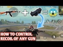 How To Control Recoil Of AKM Any Weapon PUBG MOBILE Claw