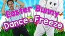 Easter Bunny Dance Freeze | Springtime Song for Kids | Fun Dance Song for Children | Jack Hartmann
