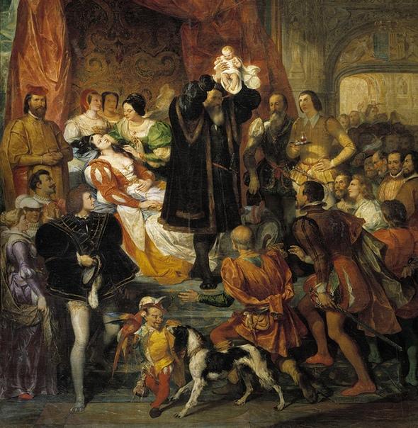 Как рожали королевы в старину: шоу для всего двора