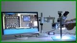 Kaisi 37045A-STL2 Trinocular Stereo Microscope 20MP HDMI