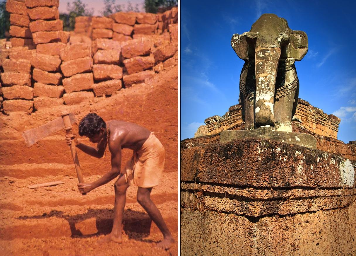 Древние гигантские камбоджийские карьеры