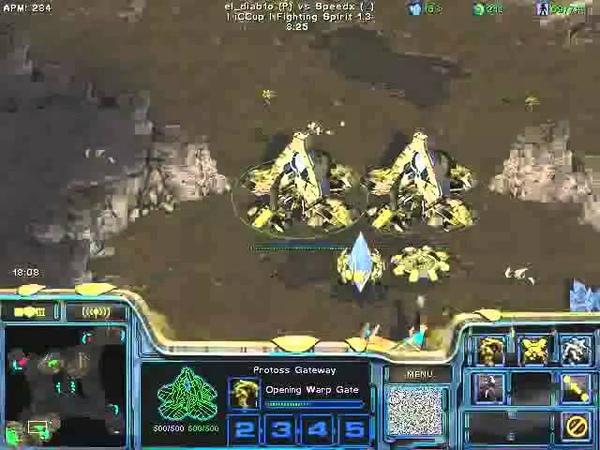 FPVOD REPS Tama vs Speedx PvZ Game 3 Starcraft Brood War 2015