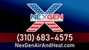Best air conditioning heating and plumbing company in Los Angeles CA NexGen 310 683 4575