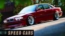 BMW E38 740i V8 Brutal Acceleration Burnout Drift and Exhaust Sound - Speed Cars