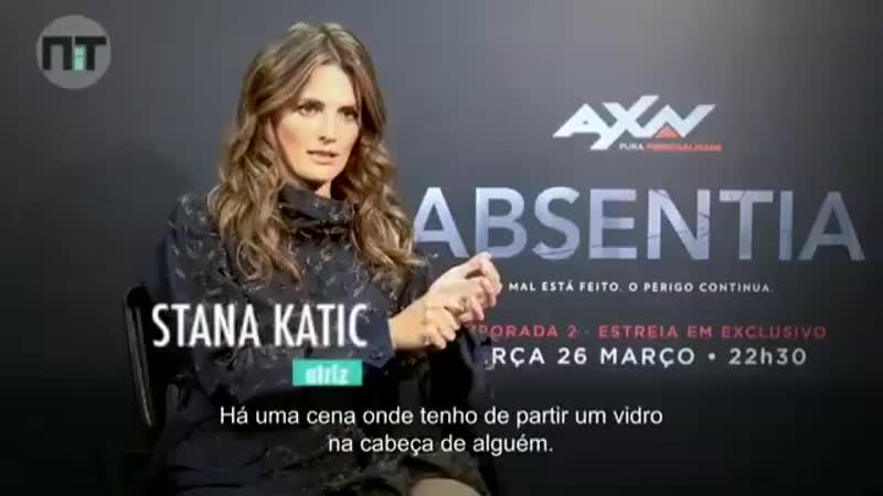 Intervista di @Stana_Katic su absentiaseason2 - absentia2 absentia -.mp4