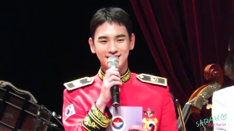 27 06 2019 Кибом на концерте военного оркестра ー key shinee