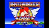 Knuckles In Sonic 2. SEGA Genesis. Walkthrough