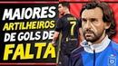 Jogadores com mais GOLS DE FALTA na história do futebol   VÁRIAS SURPRESAS na lista