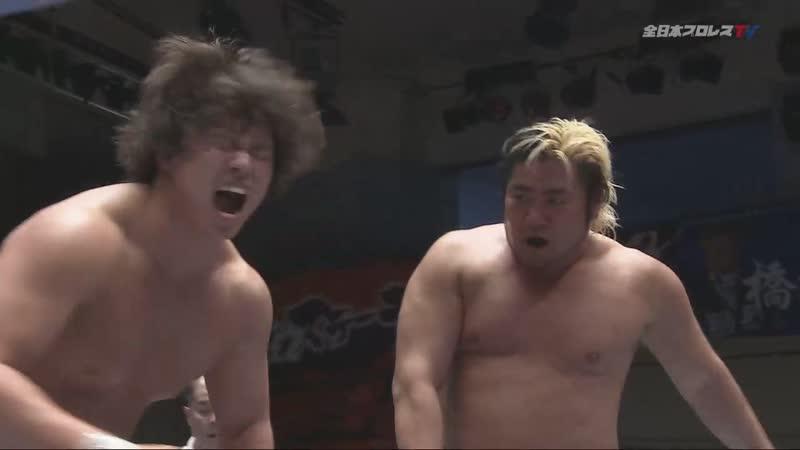 Naoya Nomura vs. Suwama (AJPW Champion Carnival 2019 - Day 17)