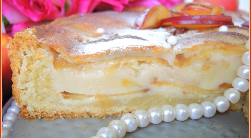 Цветаевский пирог яблочный: рецепт с тонкой корочкой и нежной текстурой