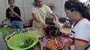 Gỏi đu đủ Thái Lan tại Hội chợ ẩm thực Thái Lan ngon không kém gỏi đu đủ Thy Ty