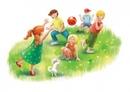 🌈 Чем занять детей в каникулы. Вспомним игры из своего детства. 📚Вышибалы.  Игра для детей от 5 лет