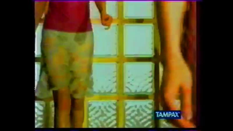 Реклама (ОРТ, 1998) Тиккурила, Tampax, RC Кола, Ice White, Ace