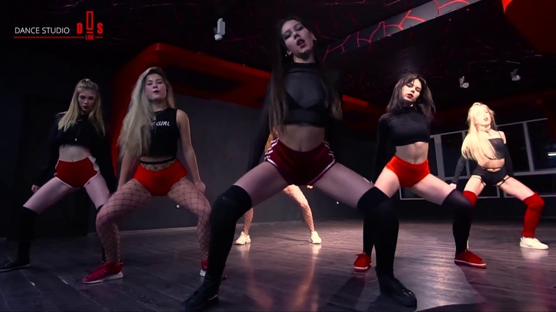 Twerk Team D_line_S pro BIZZEY SALARIS choreography by Alexandra Kond d_line_s dance studio